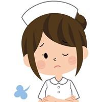 不満な看護師