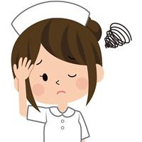 夜勤している看護師